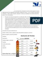 procesos de destilacion