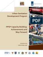 PPSP Capacity Building Achievements and Way Forward