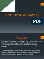 ANTROPOLOGI KAMPUS