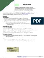 MDE_IT Project Plan