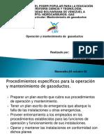 Operacion de Gasoductos