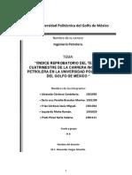 Indice de Reprobacion en La Universidad Politecnica Del Golfo de Mexico de La Ingenieria Petrolera.