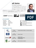 Mohammad Juma Resume - Oct 2017