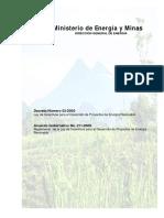 2.3 Ley y Reglamento de Incentivos de Energia Renovables