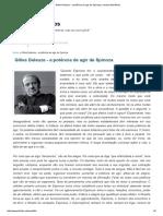 Gilles Deleuze - A Potência de Agir de Spinoza _ Ensaios Filosóficos