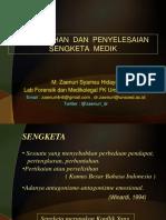 K7 - PENCEGAHAN DAN PENYELESAIAN SENGKETA MEDIK.pptx