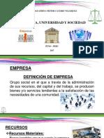 Empresa, Universidad y Sociedad