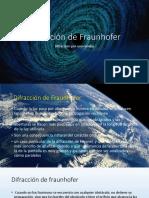 Difracción de Fraunhofer.pptx