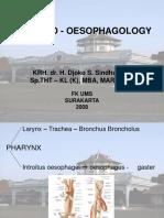 Broncho - Oesophagology