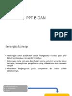 PPT BIDAN