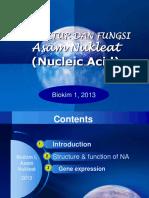 7_ Asam Nukleat Biokimia I, 24102013