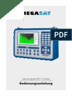 Megasat Satmessgeraet Hd 5 Combo Manual