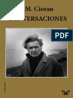 Conversaciones - E. M. Cioran