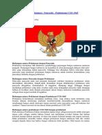 Hubungan Antara Proklamasi,UUD1945,Pancasila