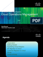 Brad Banerd Cloud Operations Management