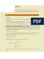 Noise and Covariance