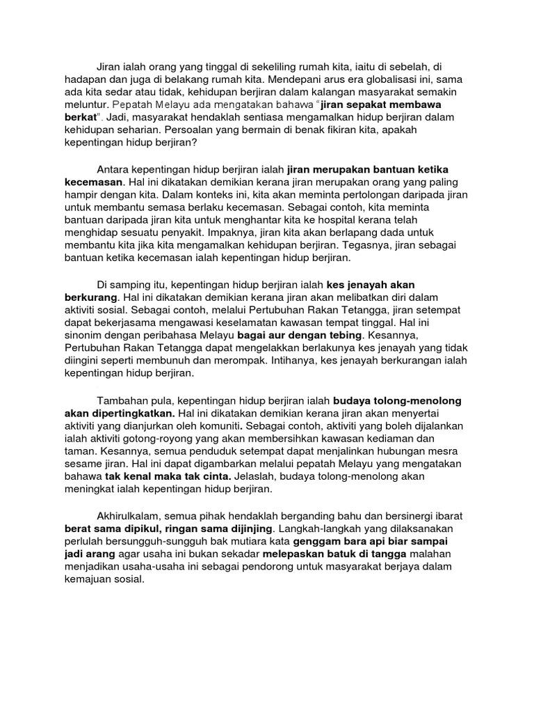 Soalan Novel Jendela Menghadap Jalan Selangor I