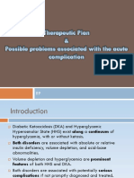 Therapeutic Plan 4 Acute DM