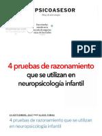 4 Pruebas de Razonamiento Que Se Utilizan en Neuropsicología Infantil
