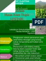 KulTekSil-6, Enrichment Planting Technique