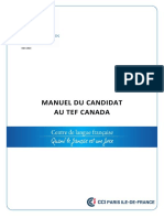 Manuel Du Candidat TEF Canada (1)