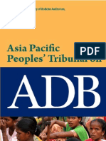 Asia Pacific Peoples Tribunal on ADB
