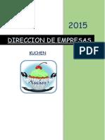 Direccion de Empresas Tf Kushen 3