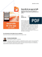 Desarrollo de Una App Con Swift