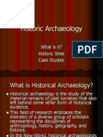 Historic Archaeology