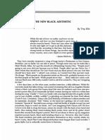 The New Black Aesthetic_Trey Ellis