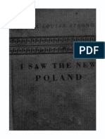 Anna Louise Strong - I Saw the New Poland