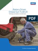 Battery Driven _Tecalemit Cu Baterii SKF TLGB20 _Sep 2015