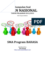 Naskah Soal UN SMA Program Studi BAHASA 2013 Pak-Anang.blogspot.com
