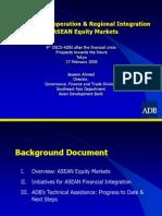 ADB Financial Integration