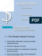 Chapter 2 Simple Interest