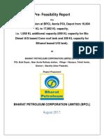 Capacity Expansion at BPCL Aonla POL
