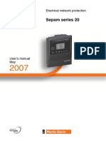Sepam 20- User Manual