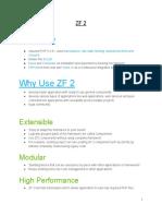 Zend Framework 2 Notes