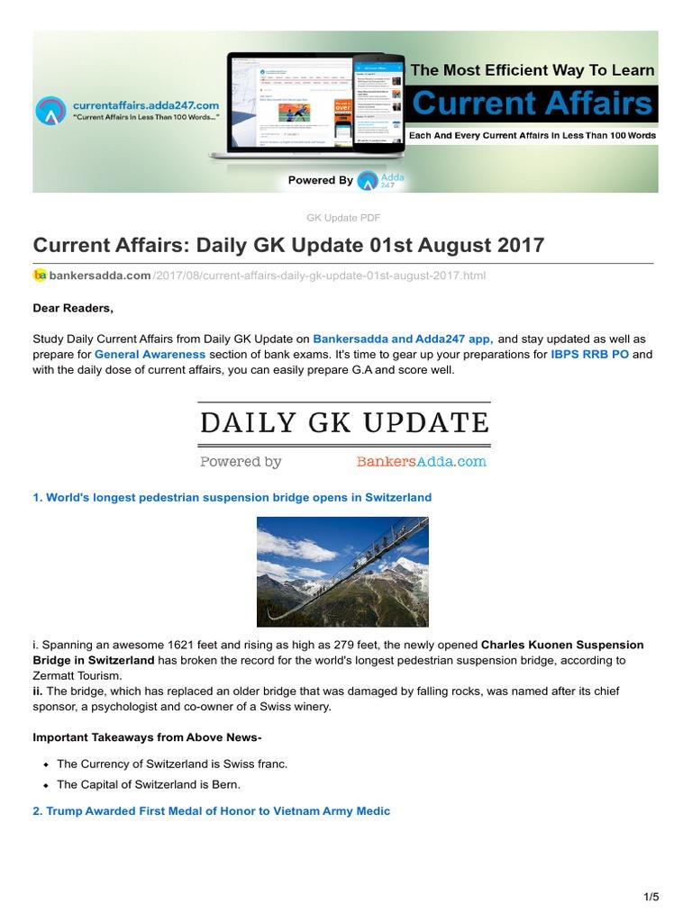 October affairs pdf bankers current adda