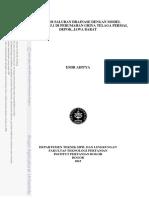 Evaluasi Saluran Drainase Dengan Model Epa Swmm 5.1 Di Perumahan Griya Telaga Permai, Depok, Jawa Barat
