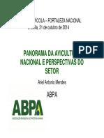 2 Dr_ Ariel - Panorama Da Avicultura Nacional e Perspectivas Para o Setor