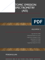 Atomic Emission Spectrometry -ABG
