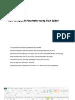 Create XML Through Plan Editor