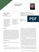 Cabello G (2005) - Pronóstico en Periodoncia, Análisis de FR y Propuesta de Clasificación.pdf