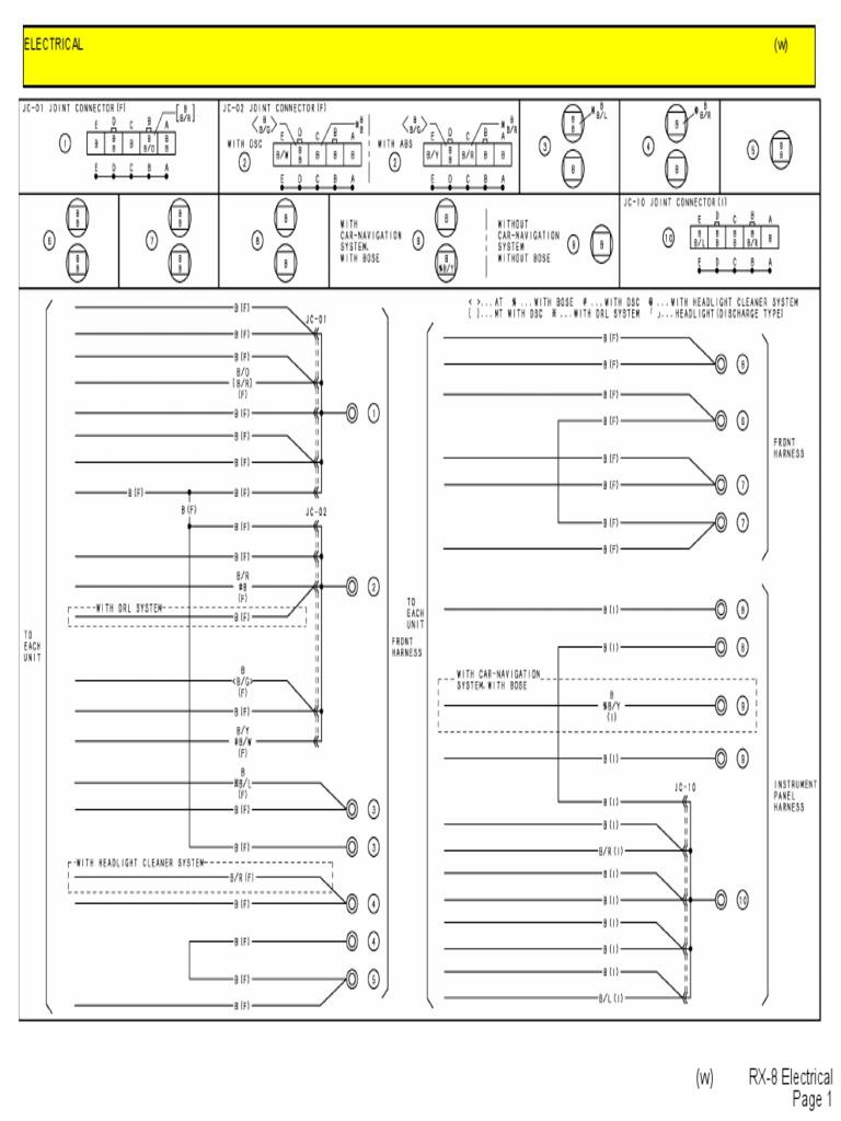Mazda Rx 8 Electrical Daewoo Musso Wiring Diagram