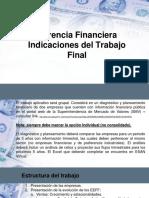 GF- Indicaciones Del Trabajo Final