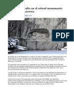 El Mensaje Oculto en El Colosal Monumento Del León de Lucerna