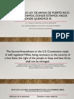 Conversatorio Ley de Armas de Puerto Rico