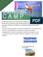 Campamento Cantabria