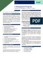 Basic Management Program